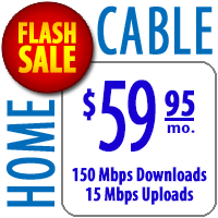 Home Cable 150 - Flash Sale